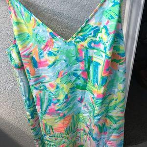 Lilly Pulitzer size L Silk dress